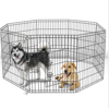 "24 30 36 42 48"" Tall Dog Playpen Crate Fence Pet Play Pen Exercise Cage -8 Panel"