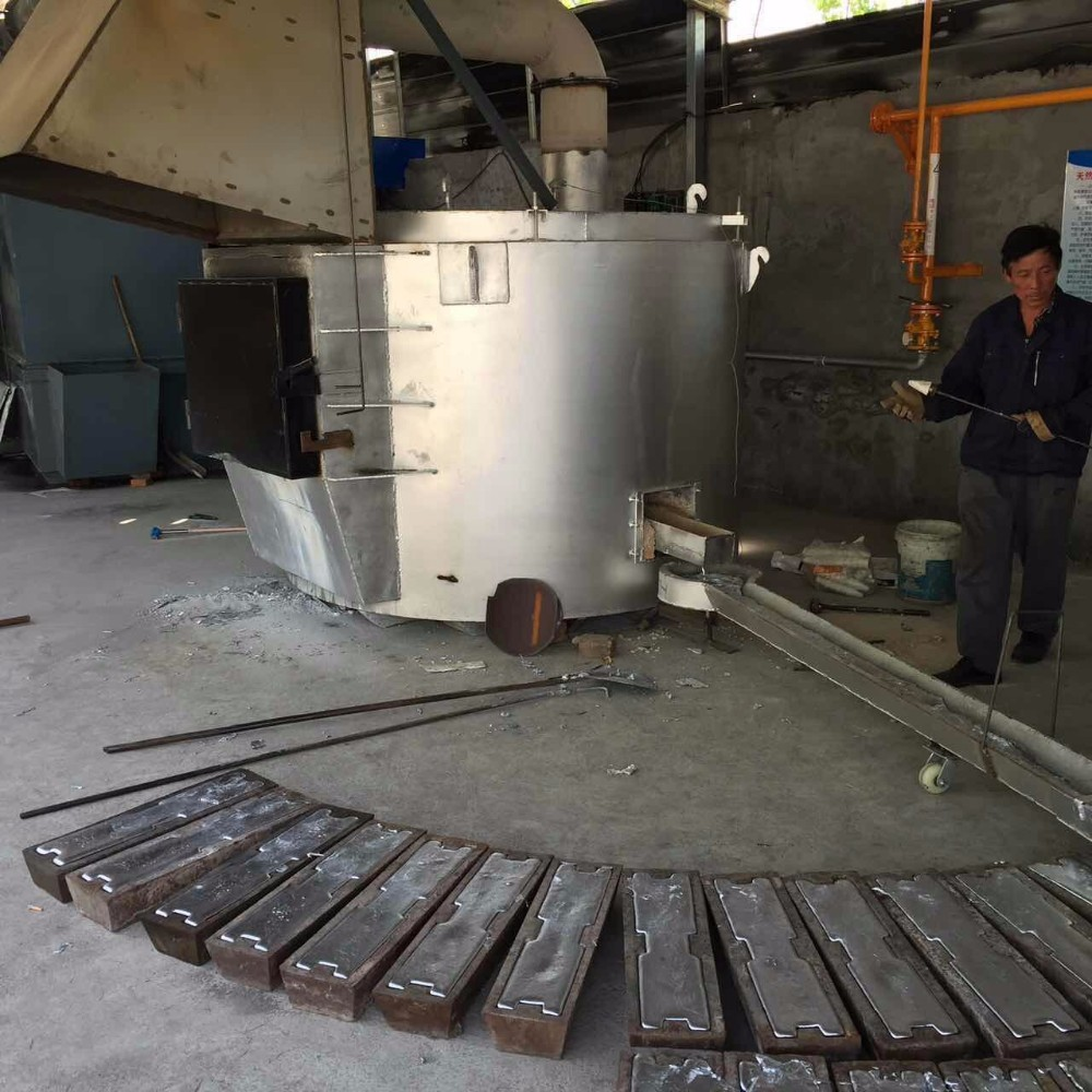 Oil Gas Fired Aluminum Melting Furnace Buy Gas Melting