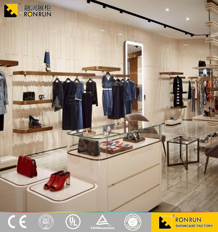Rcs2260 2017 New Factory Customized Retail Clothing Store