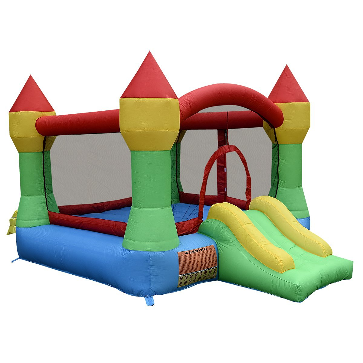 Giantex Inflatable Mighty Bounce House Castle Jump Jumper Bouncer W/out Blower