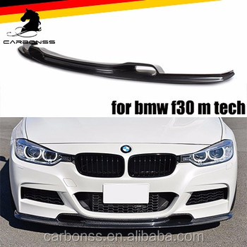 M Sport Performance Carbon Front Bumper Lower Lip Spoiler For Bmw