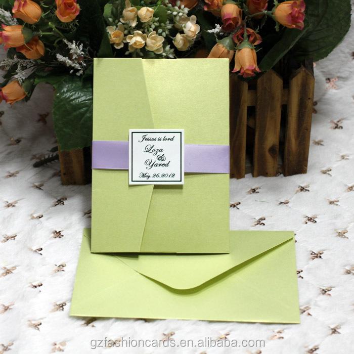 2015 Neuen Design Hochzeit Kundenspezifische Einladung Umschlag