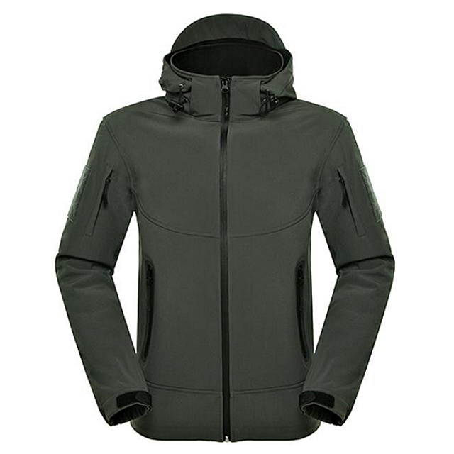2019 Hot Sale Men Outdoor Waterproof Softshell Jacket Hiking  Climbing Wear