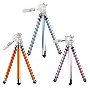(Random Color) Original Fotopro FY-583 Portable Aluminium Alloy Tripod Holder Bracket For Cellphone Camera DV / . . Specifications: . 1. Brand: Fotopro. . . 2. Model: FY-583 . . 3. Type: