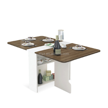 Folding Dining Table Set Design Home 4 Square Multifunction