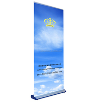 advertising wide screen roll up banner stand/pull up banner/ roller screen display