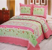 China suppliers king size bed sheet set hotel use quilt bedding set