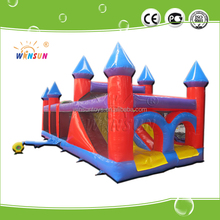 2017 CE latest style inflatable challenge obstacle course ,fit in all amusement place