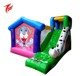 Cheap price inflatable dog bounce house bouncy castle with slides