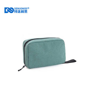 portable travel cosmetic bag large capacity travel supplies storage bag set waterproof toiletary bag for unisex