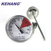 Delicate texture instant read meat food thermometer
