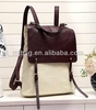 2014 new fashion canvas backpack for mac book, ipad, backpack bag
