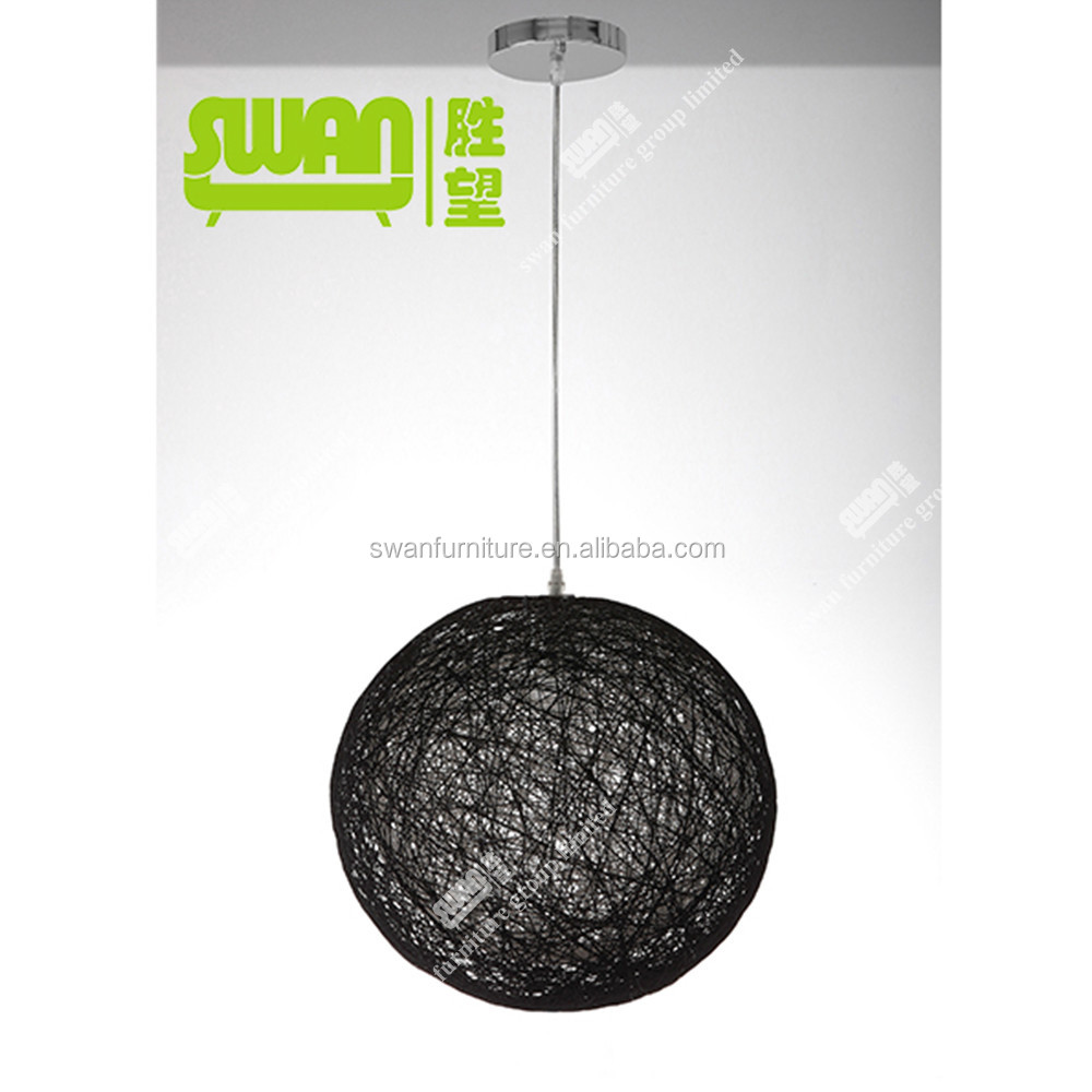 6005 black ceiling light modern