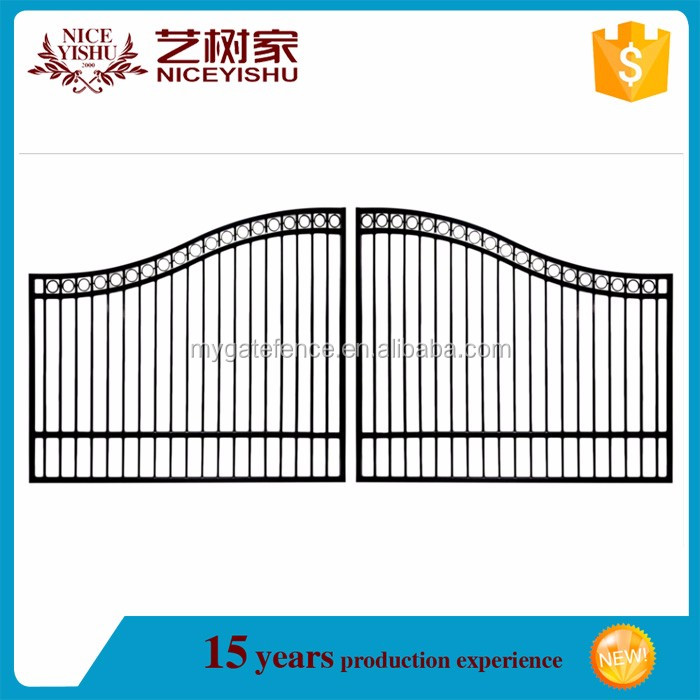 High Quality Modern Simple Iron Pipe Gates And Grills Design,Main ...