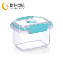 Christmas Silicon Container,Transparent Plastic Crisper,Disposable Food Container