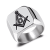 Replica custom cheap masonic rings