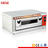 Good after-sale service single deck baking oven