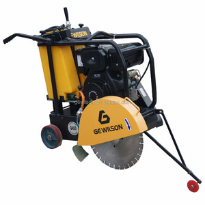 Portable Diesel Asphalt Road Concrete Floor Saw Cutting Machine