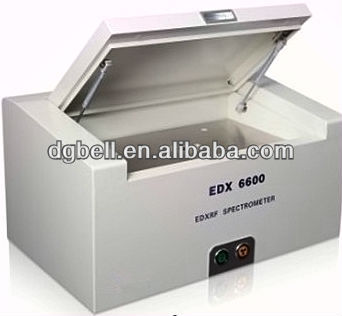 High precision EDX6600 X-ray fluorescence XRF spectrometer
