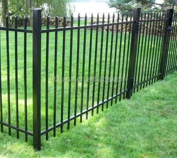 Sliding Wrought Iron Big Gates Beautiful Design Decorative