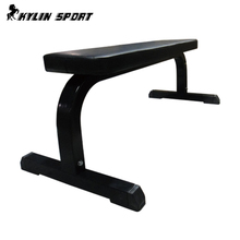 Indoor Gym Equipments Exercise Ab Press Flat Sit Up Bench