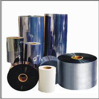 Factory Direct Sell PVC rigid film for thermoforming, blister package, food, medicine, cards, toys, cosmetics,hardware etc