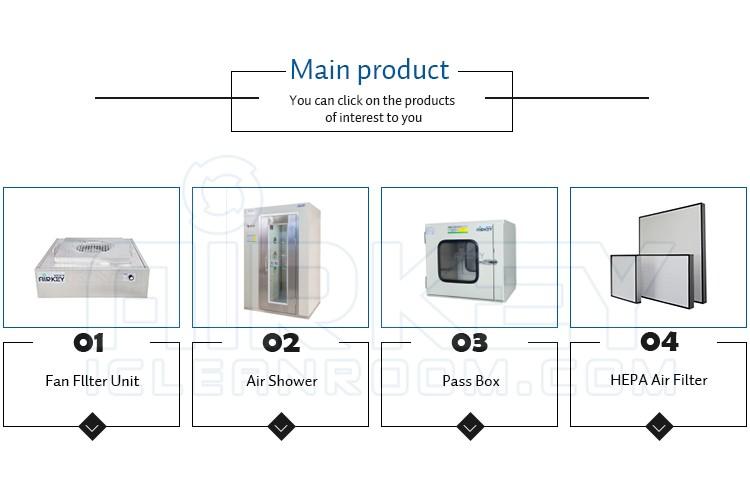 Oem iso 6 klasse 1000 modulaire draagbare schoon kamer buy product on - Modulaire kamer ...
