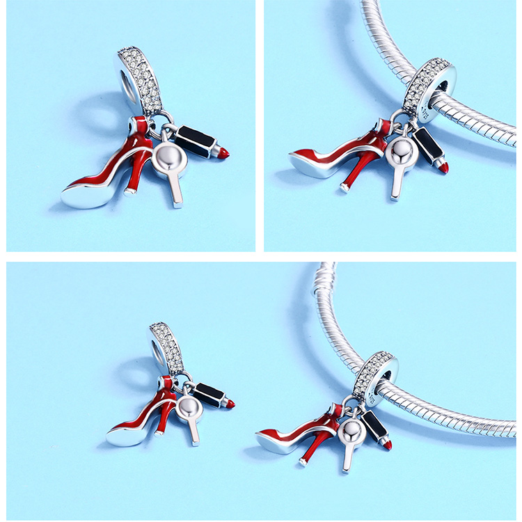 Wholesale Jewelry at Lowest Price  925 Sterling Silver Sexy Dressing Charm