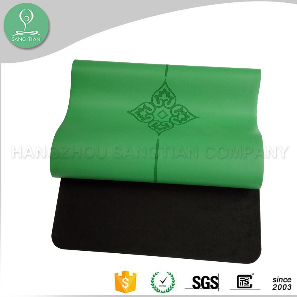 Eco friendly sweat absorbent waterproof polyurethane yoga mat manufacturer
