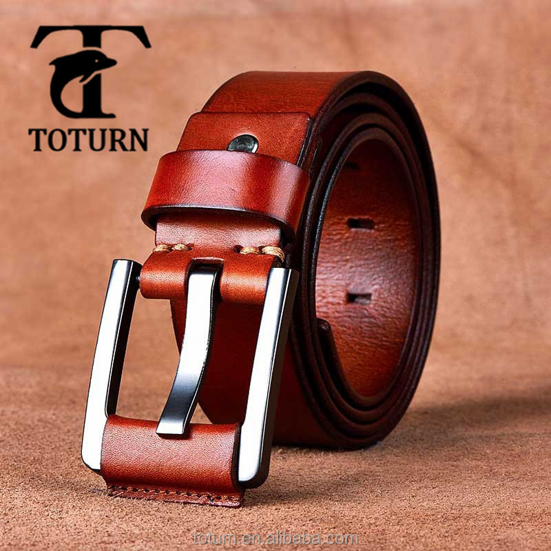 latest custom steel trendy fashion luxury strong genuine oxhide needlepoint man waist belt designer mens leather belts