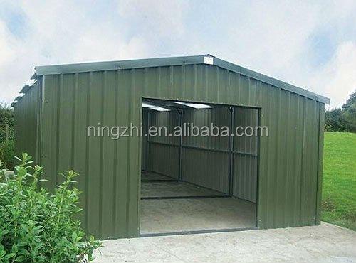 pr fabriqu e garage m tallique 6 x 4 x 2 6 m acier fram garage garage m tallique pour une. Black Bedroom Furniture Sets. Home Design Ideas