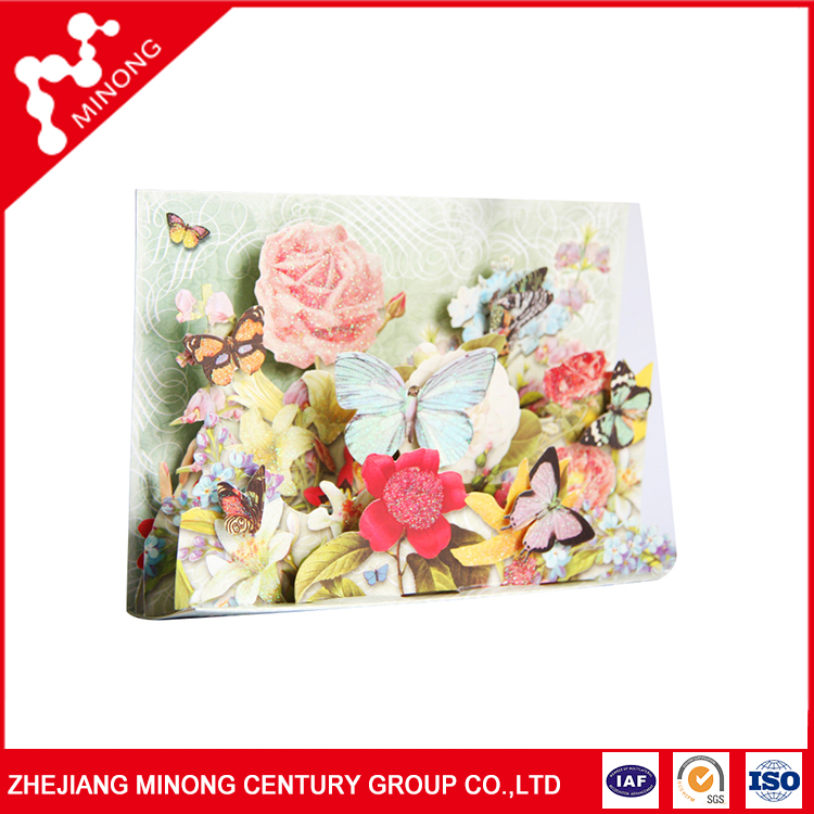 Beautiful guaranteed quality competitive hot China 3d handmade birthday invitation cards