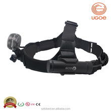 UGOE 1000lumens head light CREE T6 LED waterproof multi-function USB charged head light to wear