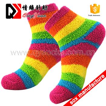 Christmas Fuzzy Socks.Women Strippe Fluffy Socks Microfiber Fuzzy Socks Sleepy Christmas Comfortable Socks Buy Microfiber Socks Fuzzy Socks Wholesale Microfiber Kids