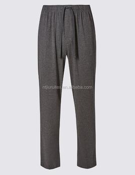Modal Blend Jersey Knit Slim Fit Pyjama Bottom For Men Buy Pajama