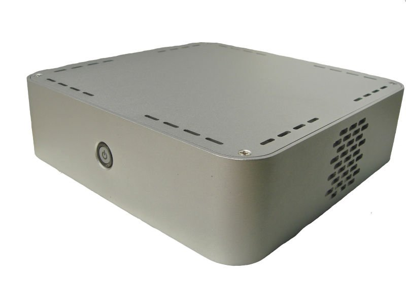 Industrial pc case ,mini-itx case,mini itx aluminum case(Black/Silver optional)