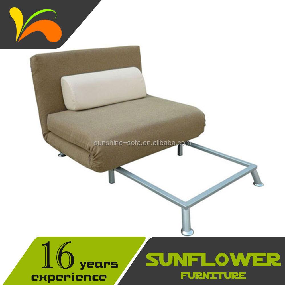 100 Foldable Chair Bed Foam Futon Single