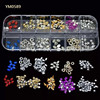 Guangzhou Yimart Box Packing Metal Nail Art Slice,Gel Nail Sticker YM0589
