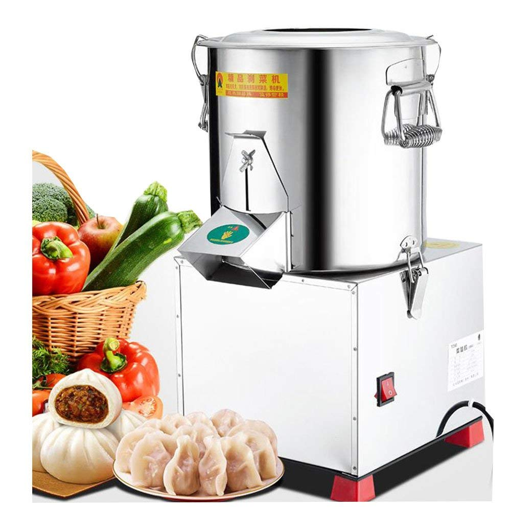 6L Food Mixer Stainless Steel Commercial Cutter 2000R//Min Grinder for Meat 110V