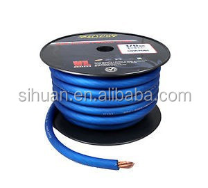 2 Ga Awg Blue Car Audio Power Cable Power Wire For Car Audio ...