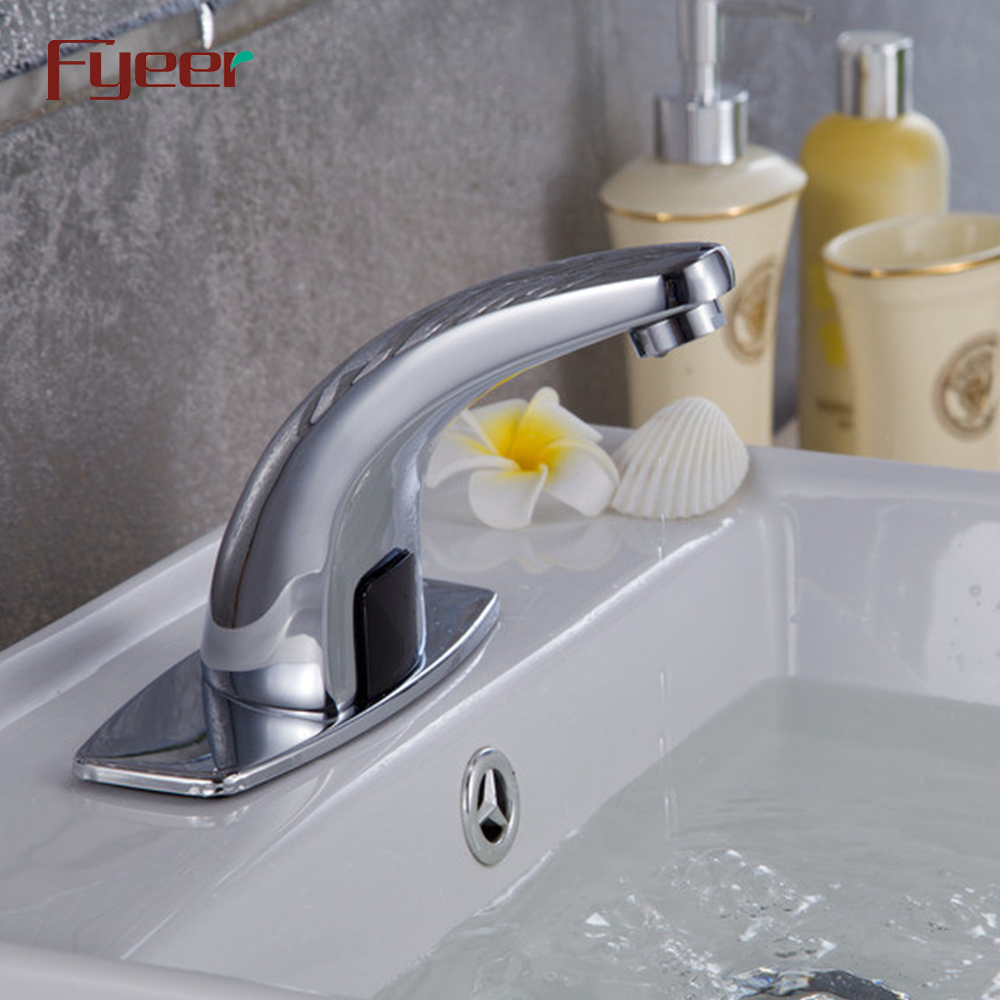 Fyeer Popular Brass Hands Free Automatic Sensor Water Tap