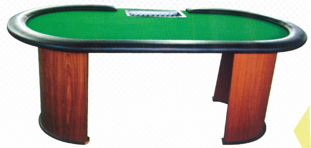 Placas de plástico Oversized Chips Poker Table Top