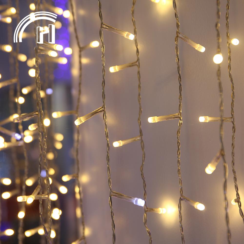 Wholesale christmas led rice lights drape chain