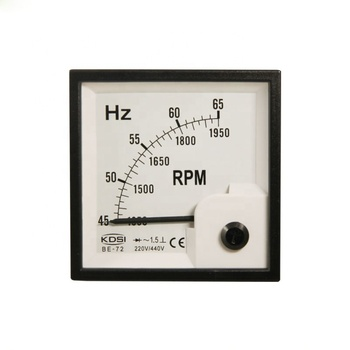 Hz To Rpm >> Be 72 Hz Rpm Meter 220 440v 45 65hz 1350 1950rpm Analog Hz Meter Rpm Meter Buy Analog Hz Meter Rpm Meter 45 65hz 1350 1950rpm Meter Precision Panel