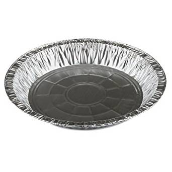 """Pactiv 2311045Y Pie Pans, 1.69"""" Length, 0.86"""" Width, 1.02"""" Height, Aluminum (Pack of 400)"""