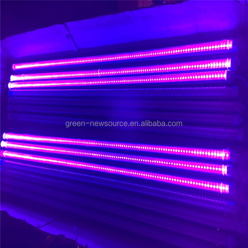China manufacturer 4FT T8 UV ultraviolet high quality UV light tube LED T8 tube