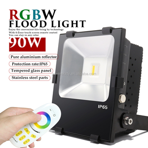 100W RGBW LED Flood Light 2.4g COB 100W RGB LED Food lamp 100W RGBW LED Wall washer multicolor Color changing LED Floodlight
