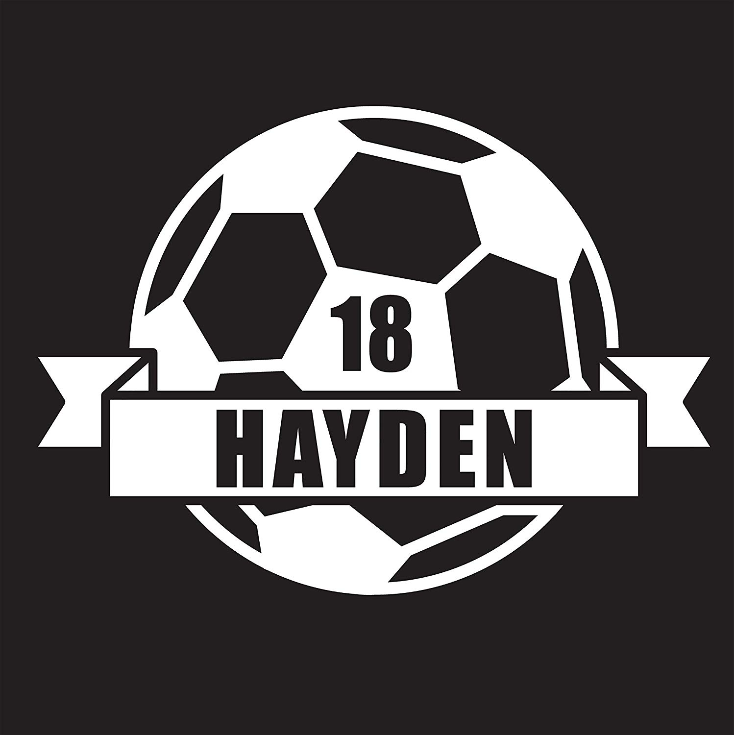 47f3ad92b18 Get Quotations · Custom Soccer Decal
