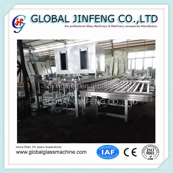 JFW-2500 Large Size horizontal glass washing machine for Low-e and float glass