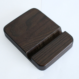 New model modern portable wood smart mobile phone holder